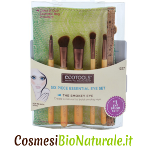 Ecotools Essential Eye Brush Set Penelli