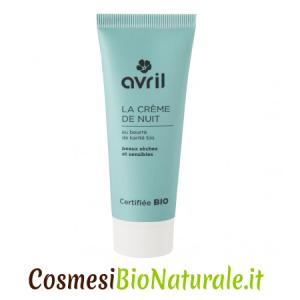 Avril Crema Viso Notte Pelle Secca Sensibile