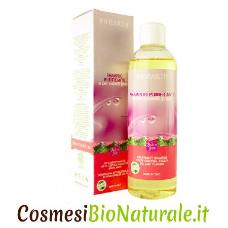 Bioearth Shampoo Purificante Capelli Grassi