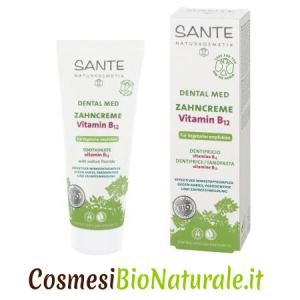 Sante Dentifricio Biologico Vitamina B12