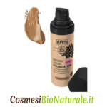 lavera fondotinta liquido natural liquid foundation 05 almond amber