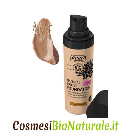 Lavera Fondotinta Liquido Naturale 04 Honey Beige