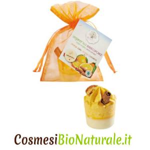 Ecoworld cupcake da bagno arancia & cannella