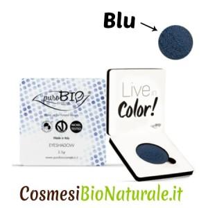 puroBio Ombretto Cialda Singola Blu 07