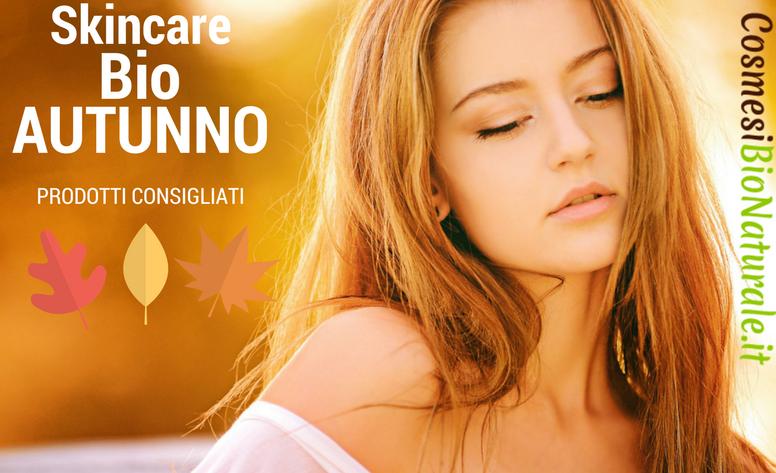 skincare bio ecobio autunno viso cosmesi bio naturale online