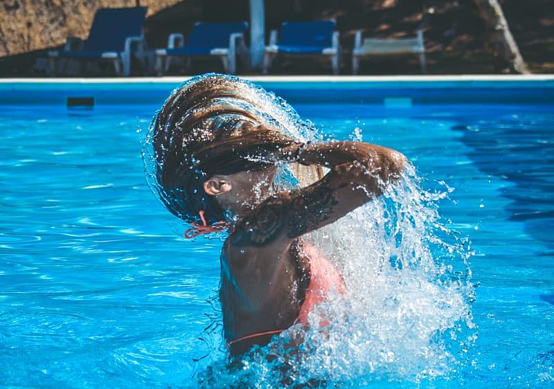 cloro della piscina