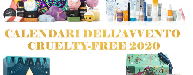 calendari dell'avvento cruelty free 2020